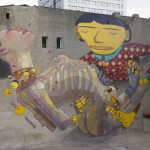 Mural  Łodz, Osgemeos and Aryz