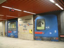 TRAIN STATION LUZ – GRAFFITI PROJECT