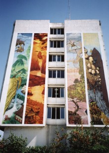 MURALS FOR THE OLYMPIC GAMES