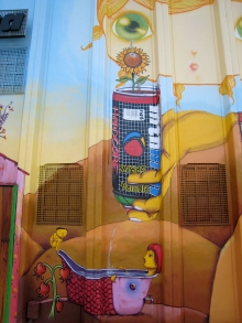 MONTANA FACTORY, NINA PANDOLFO AND OSGEMEOS COLLABORATION