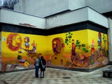 MURAL MUSEU DE KAUNAS