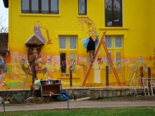 INSTALLATION FOR SLAVA'S POLUNIN HOUSE