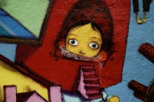 23 DE MAIO AVENUE MURAL, COLLABORATION OSGEMEOS, NUNCA, NINA PANDOLFO, FINOK AND ZEFIX