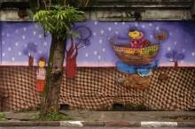 MURAL IN CEZARIO RAMALHO STREET