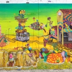 Mural created by OSGEMEOS in New York is unveiled