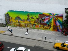 MURAL HOUSTON STREET E BOWERY