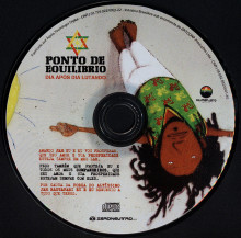 CD COVER DAY AFTER DAY FIGHTING, AND COLLABORATION OSGEMEOS, POINT OF BALANCE