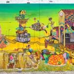 Mural criado por OSGEMEOS em Nova York é reapresentado