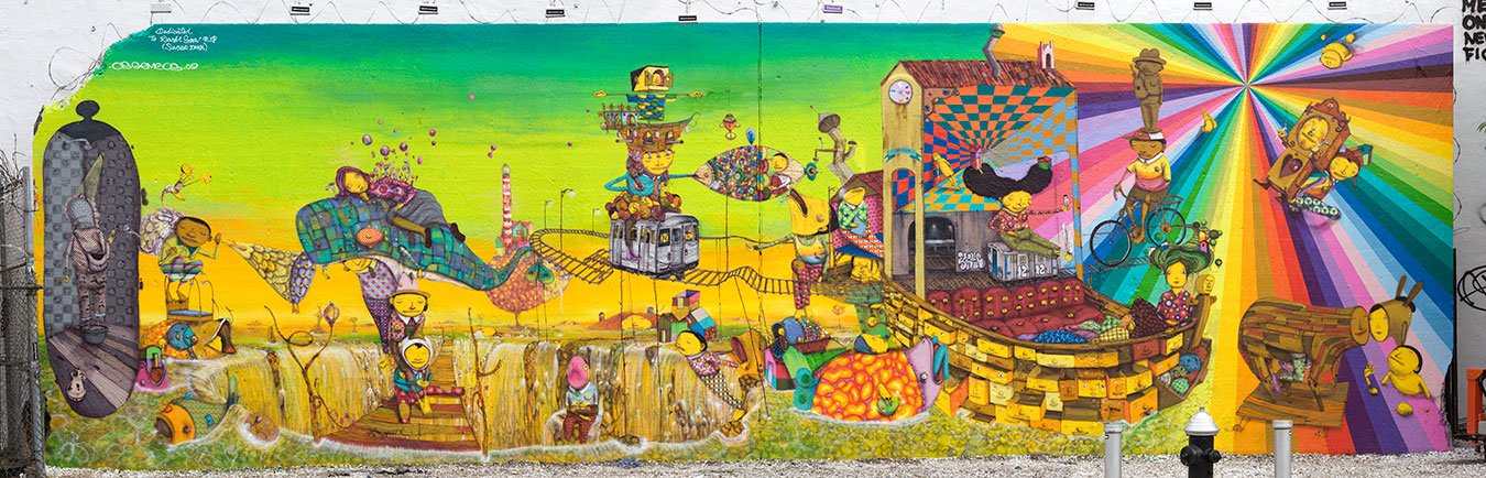 HOUSTON STREET AND BOWERY MURAL