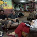 Poli interviews OSGEMEOS for Tv Cultura