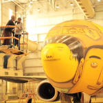 OSGEMEOS COLLABORATION WITH GOL LINHAS INTELIGENTES
