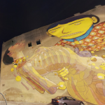 OSGEMEOS and Aryz mural in Poland, now in Street View