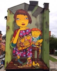 Mural em Estocolmo